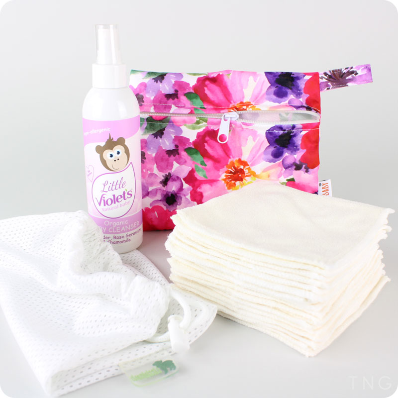 Washable Wipes Kits by The Nappy Gurus