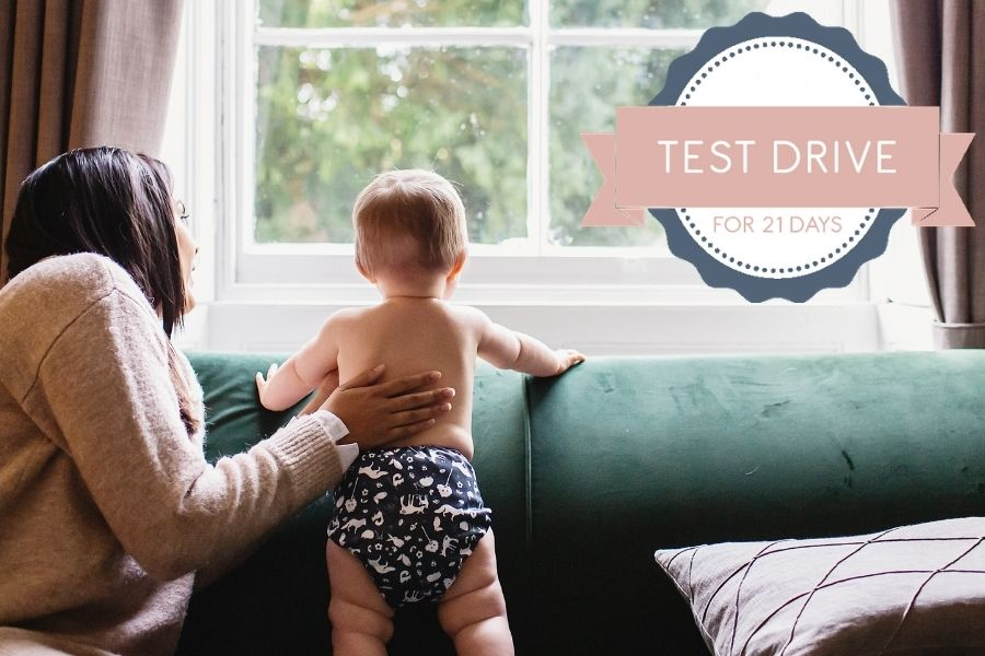 Test drive reusable nappies for 21 days