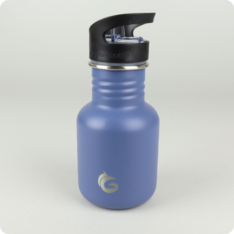 ONE GREEN BOTTLE TOUGH CANTEEN - 350ML CLASSIC BLUE