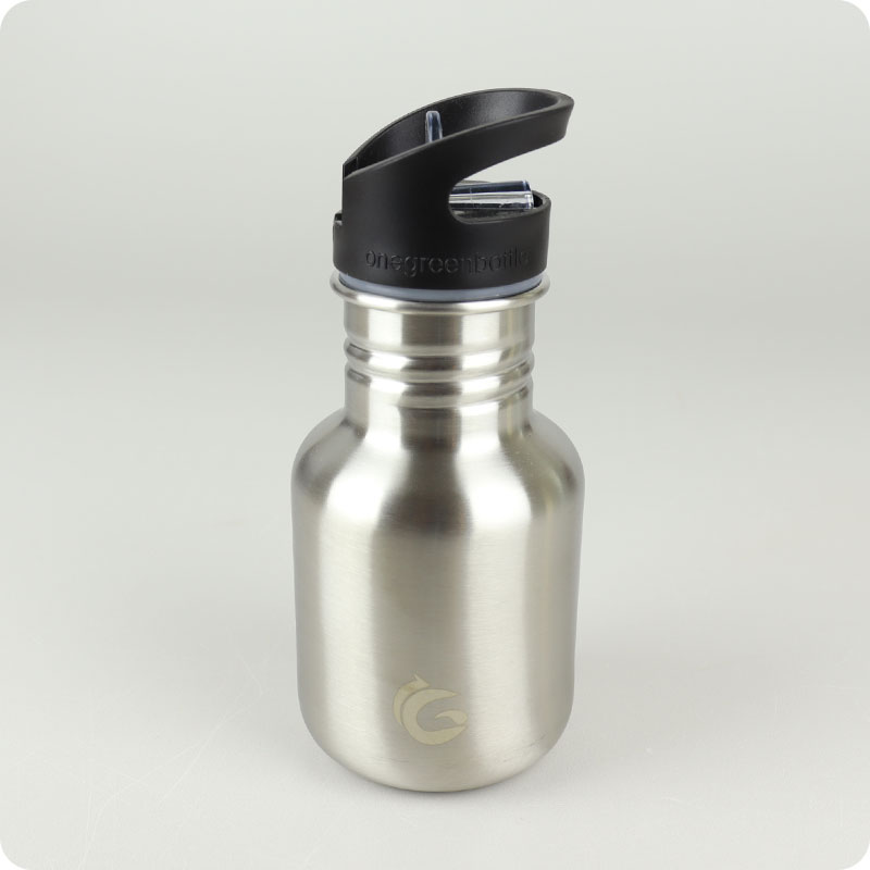 One Green Bottle Tough Canteen - 350ml Stainless Steel