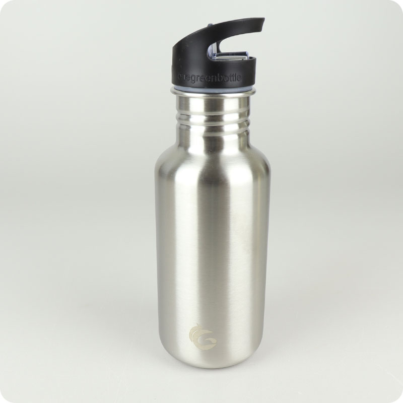 One Green Bottle Tough Canteen - 500ml Stainless Steel