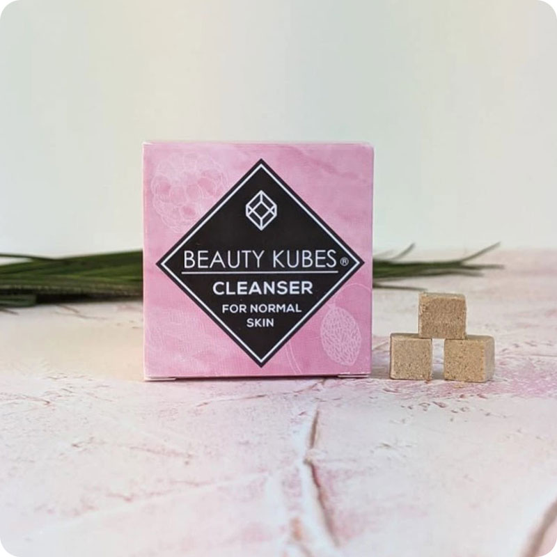 Beauty Kubes Face Cleanser Cubes
