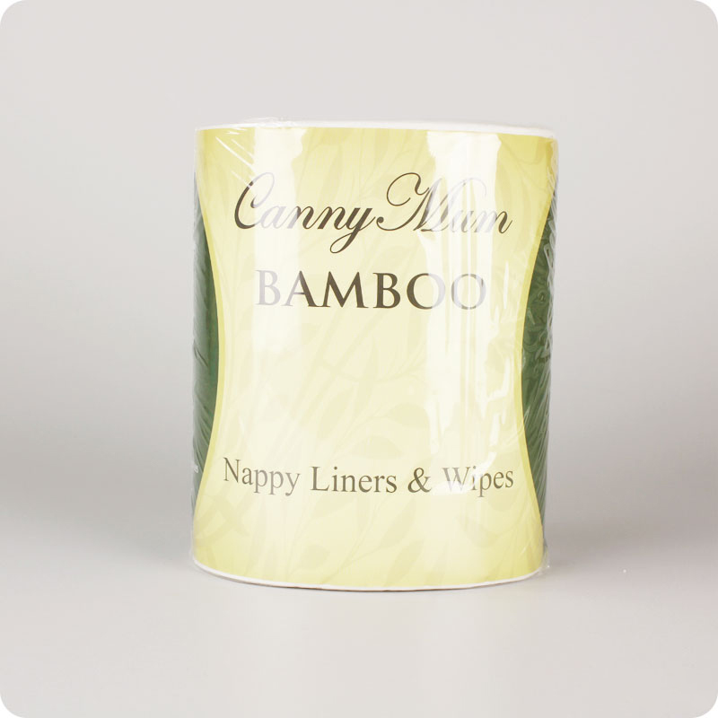 Cannymum Bamboo Nappy Liners & Wipes - 200 Pack