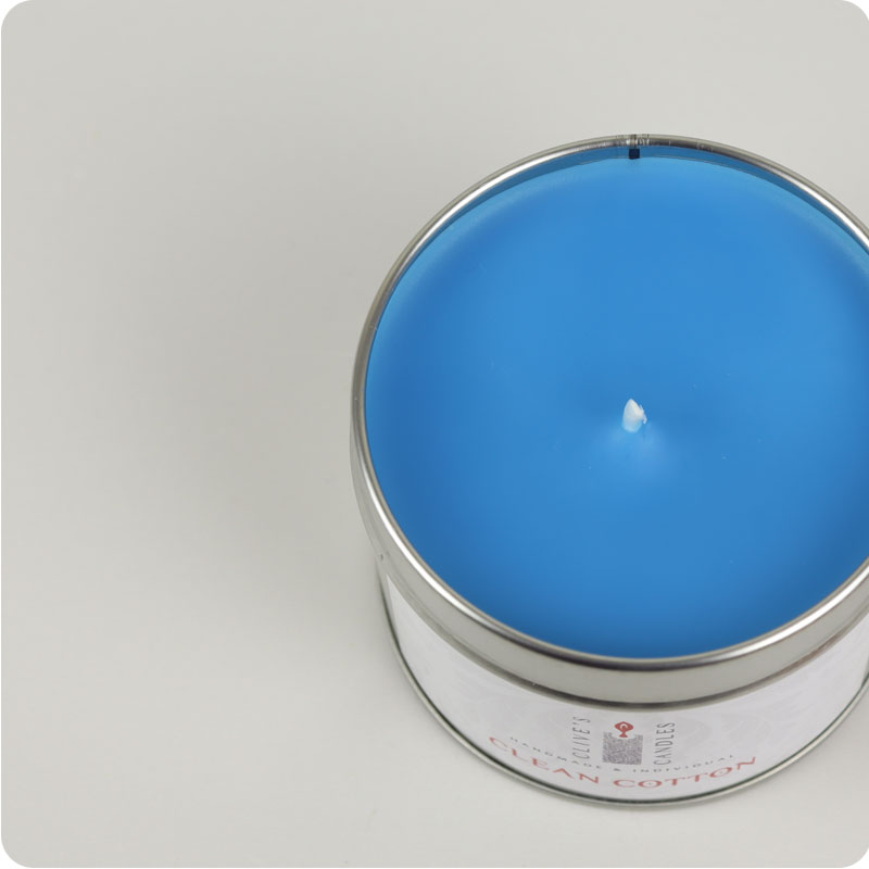Clive's Candle Tins - Clean Cotton