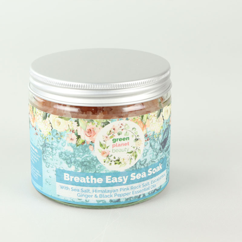 GREEN PLANET BEAUTY - BREATHE EASY SEA SOAK