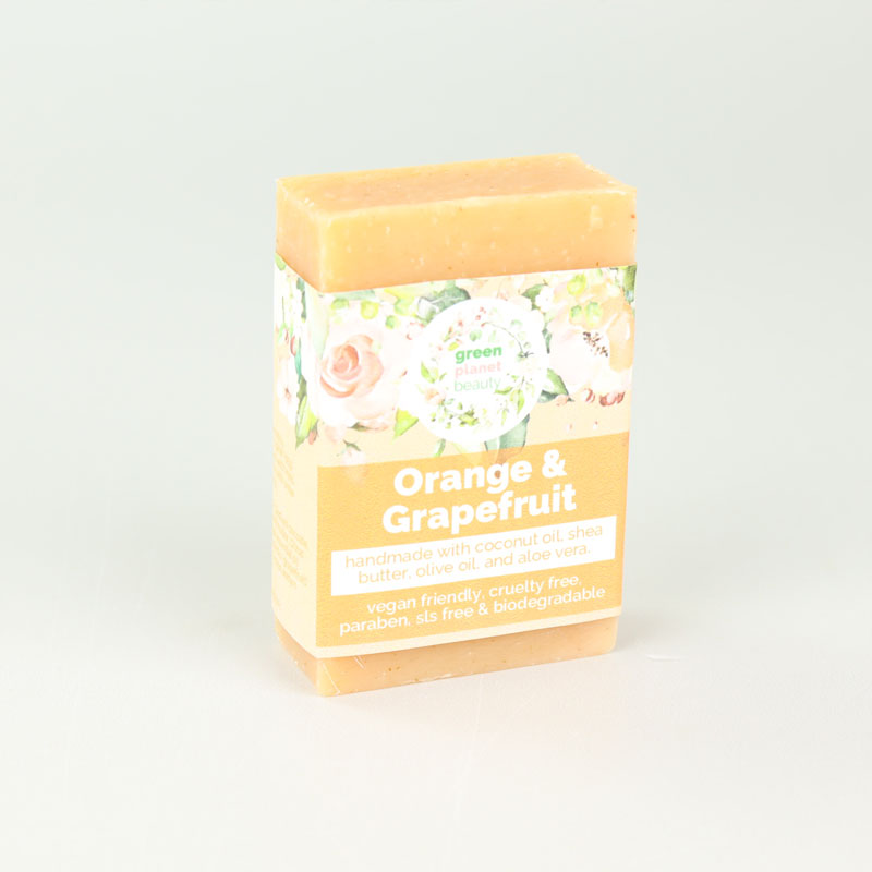 Green Planet Beauty Orange & Grapefruit Soap