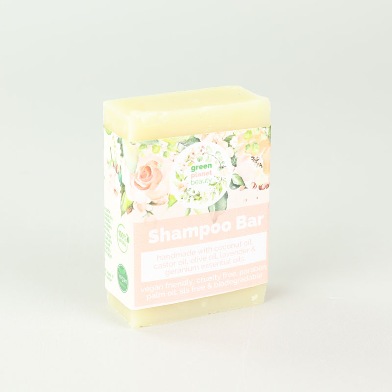 GREEN PLANET BEAUTY - SHAMPOO SOAP BAR