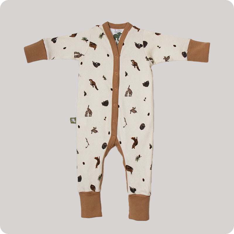Little Lamb Hey Ewe Babygrow - Woodland Wonderland
