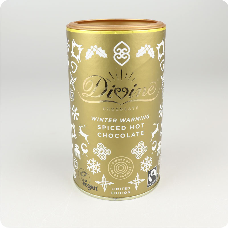 DIVINE FAIRTRADE HOT CHOCOLATE LIMITED EDITION 300G