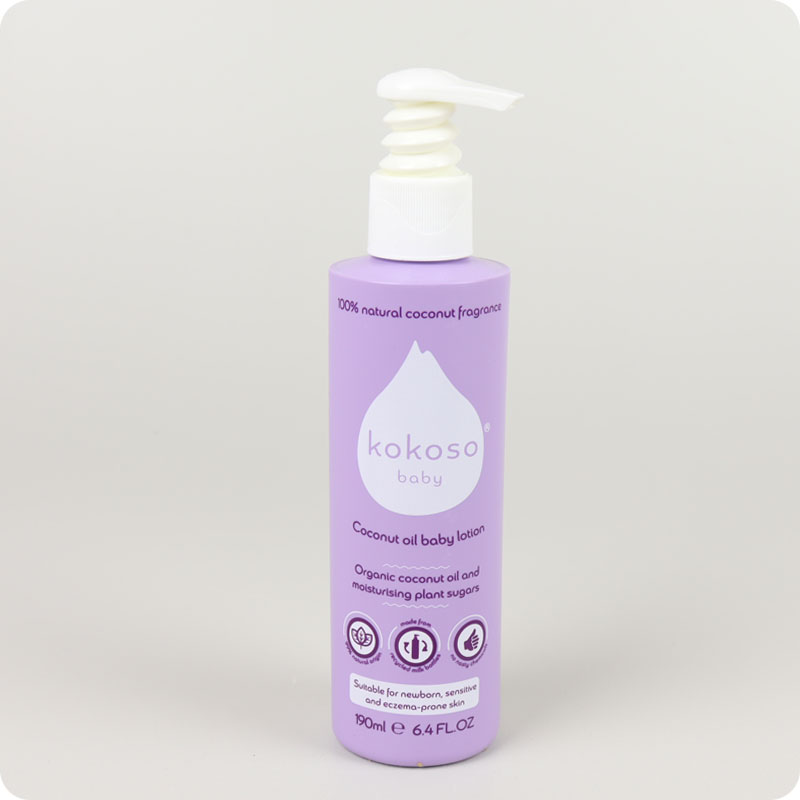 Kokoso Baby Lotion - Natural Coconut Softly Scented
