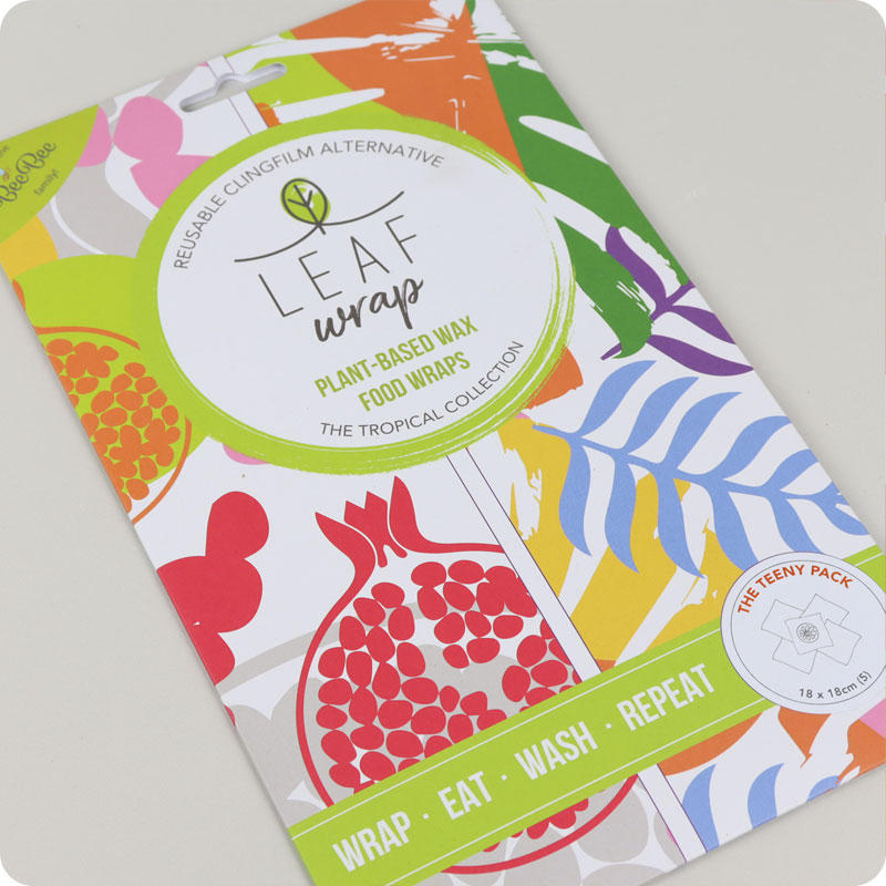 Leaf Vegan Reusable Food Wraps - Teeny Pack