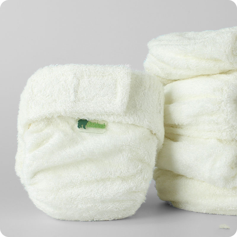 LITTLE LAMB BAMBOO NAPPY- BUNDLE DEAL