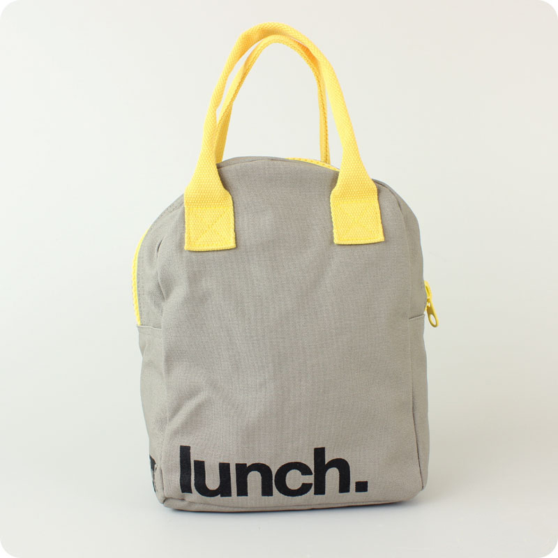 FLUF ZIPPED LUNCH BAG - LUNCH