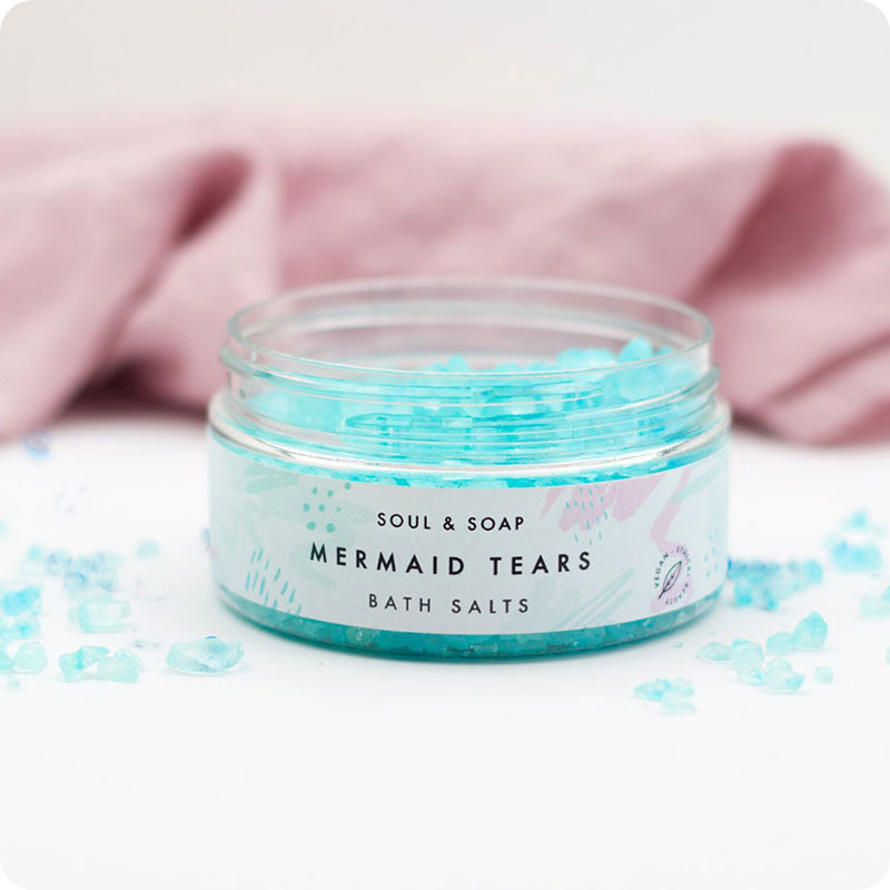 Soul & Soap Bath Salts - Mermaid Tears