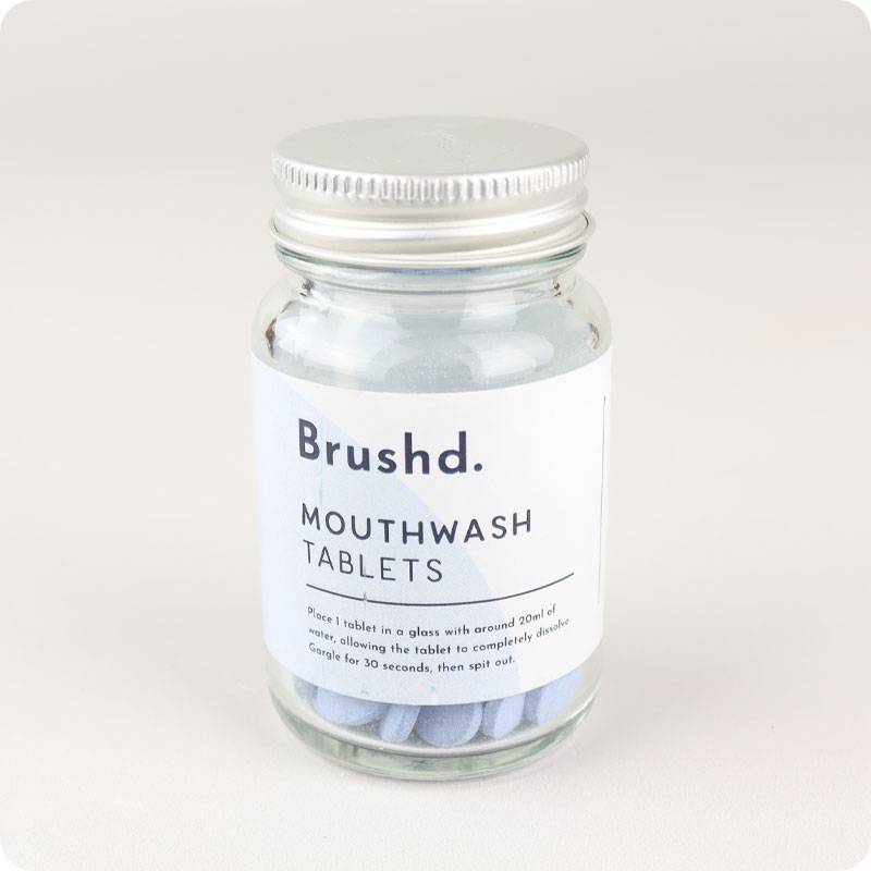 Brushd - Mouthwash Tablets
