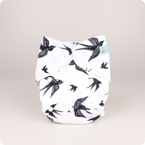 ALVA BABY ONE SIZE NAPPIES