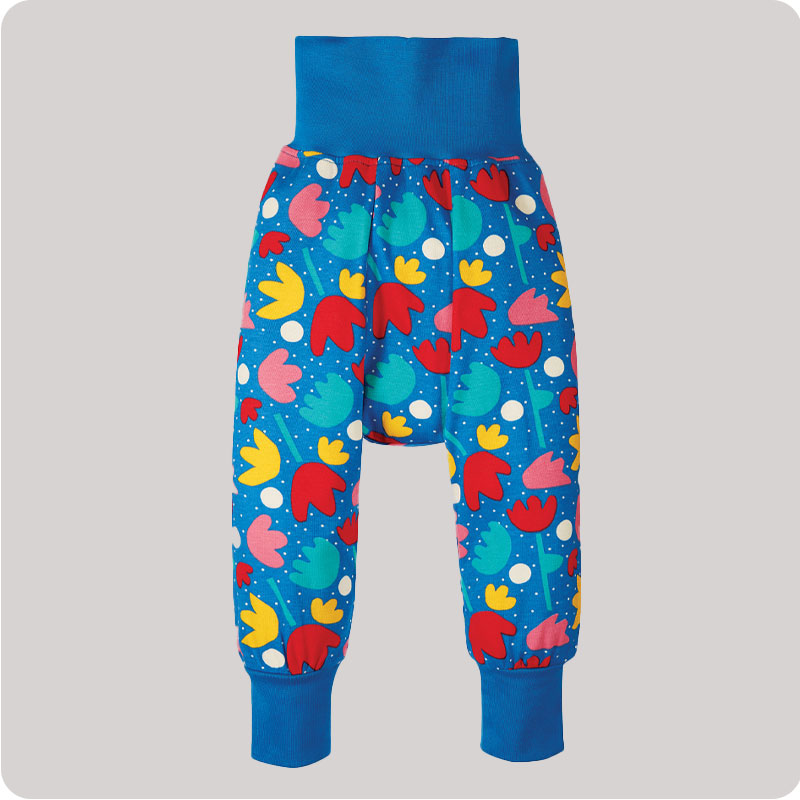 Frugi Parsnip Pants - Lotus Bloom