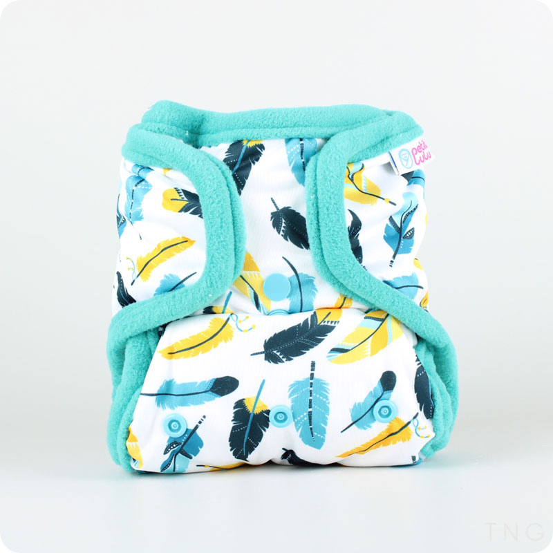 PETIT LULU SNAP-IN-ONE NAPPY - SNAPS