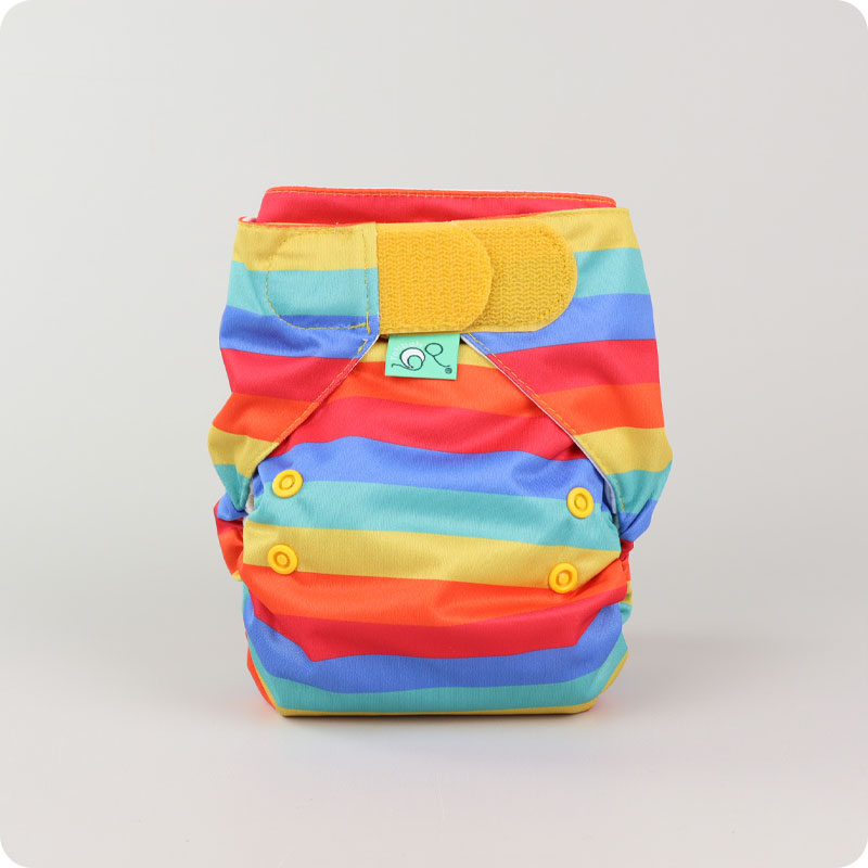 Tots Bots + Frugi Easyfit Star - Rainbow Stripes