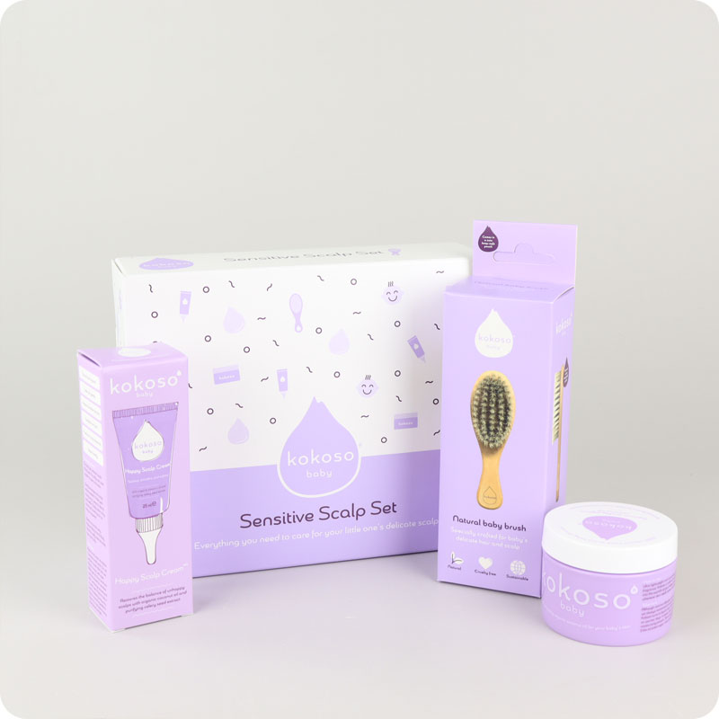 KOKOSO BABY SENSITIVE SCALP SET