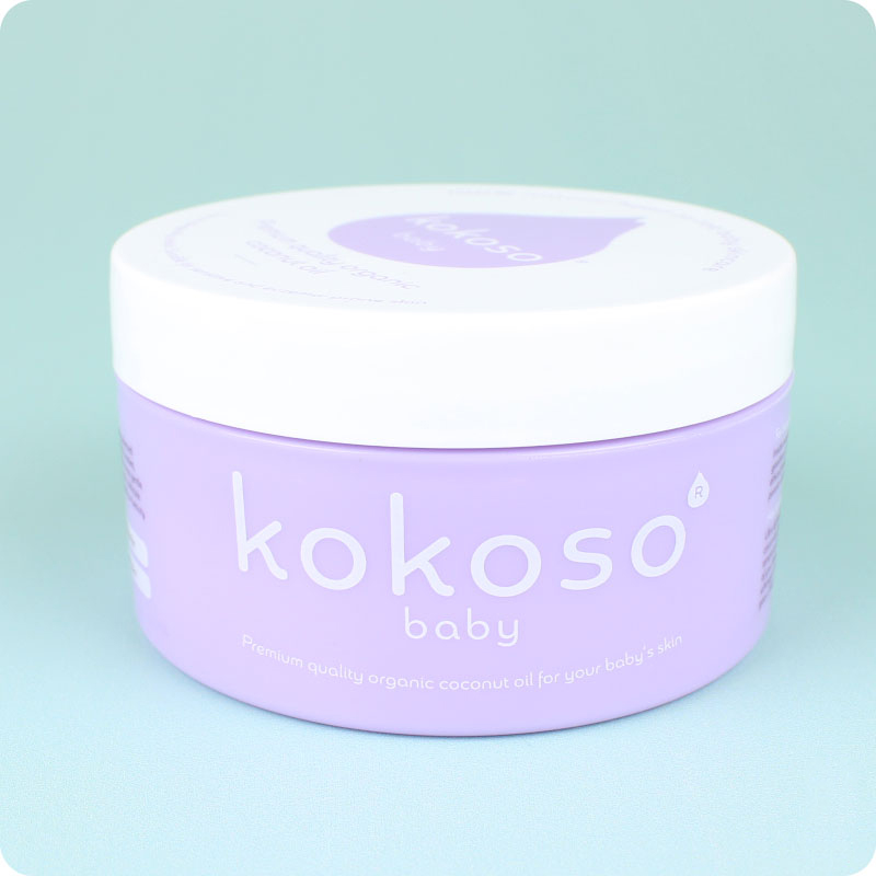 KOKOSO BABY COCONUT OIL - ORIGINAL POT