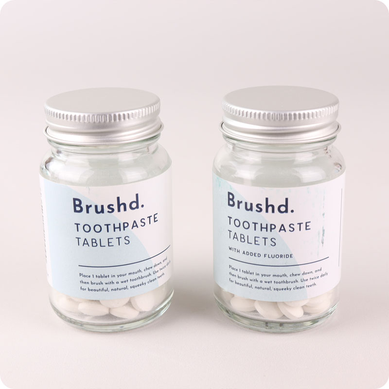 Brushd - Toothpaste Tablets