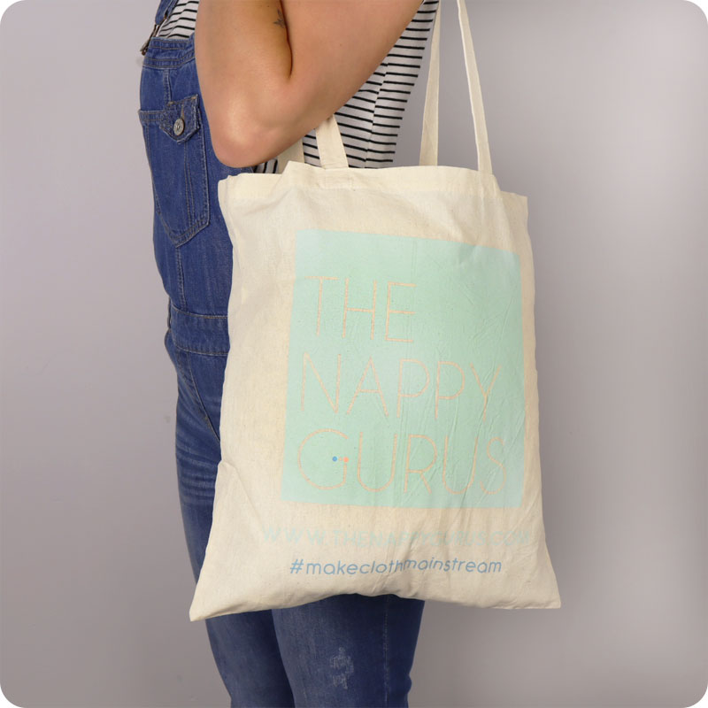 THE NAPPY GURUS SHOPPING BAG
