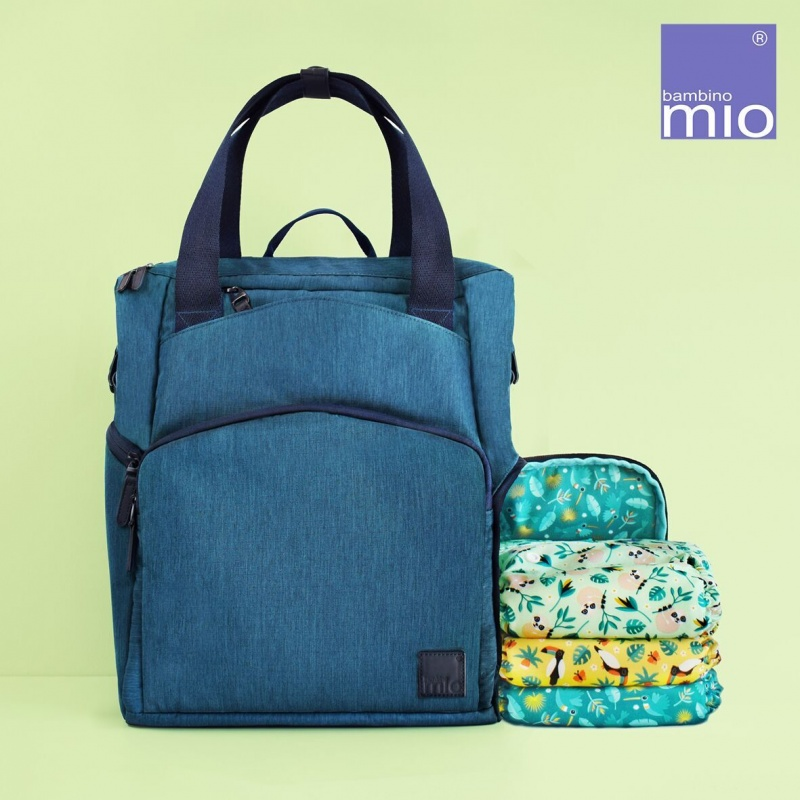 Bambino Mio Baby + Beyond Changing Bag - Navy