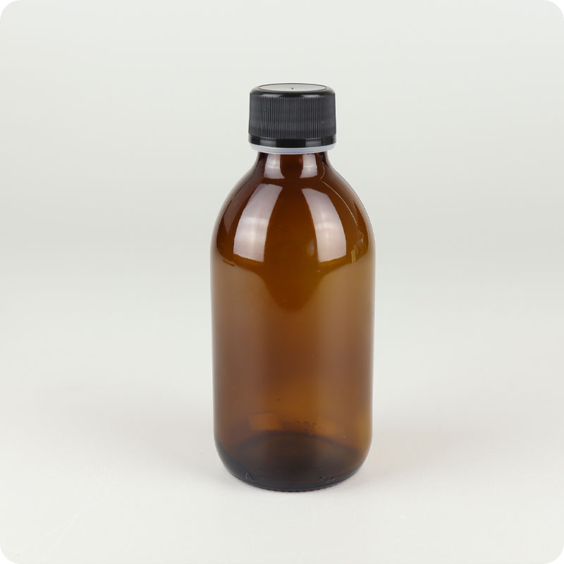 Glass Bottle - 250ml Screw Top