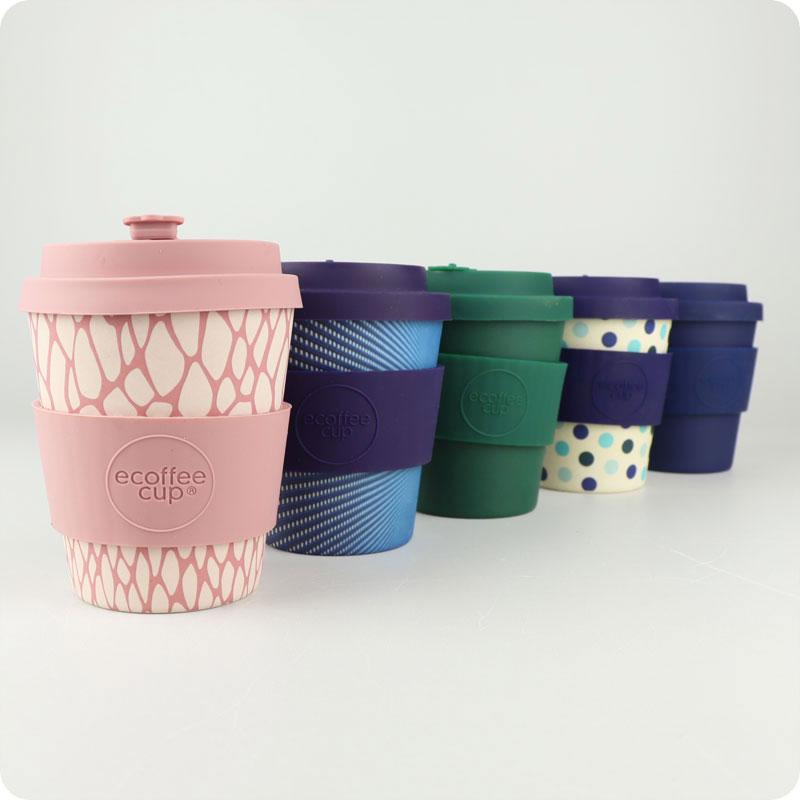 ECOFFEE REUSABLE CUP - 8OZ