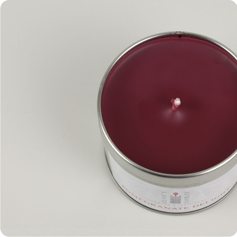 Clive's Candle Tins - Pomegranate Delight