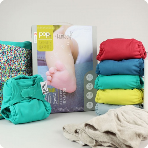 CLOSE POP IN NAPPY V2 - 10 PACK BRIGHTS