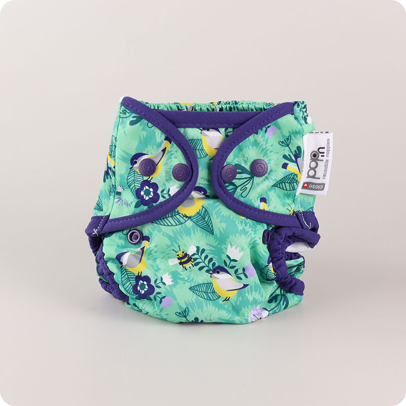 CLOSE POP-IN NAPPY WRAP - POPPERS