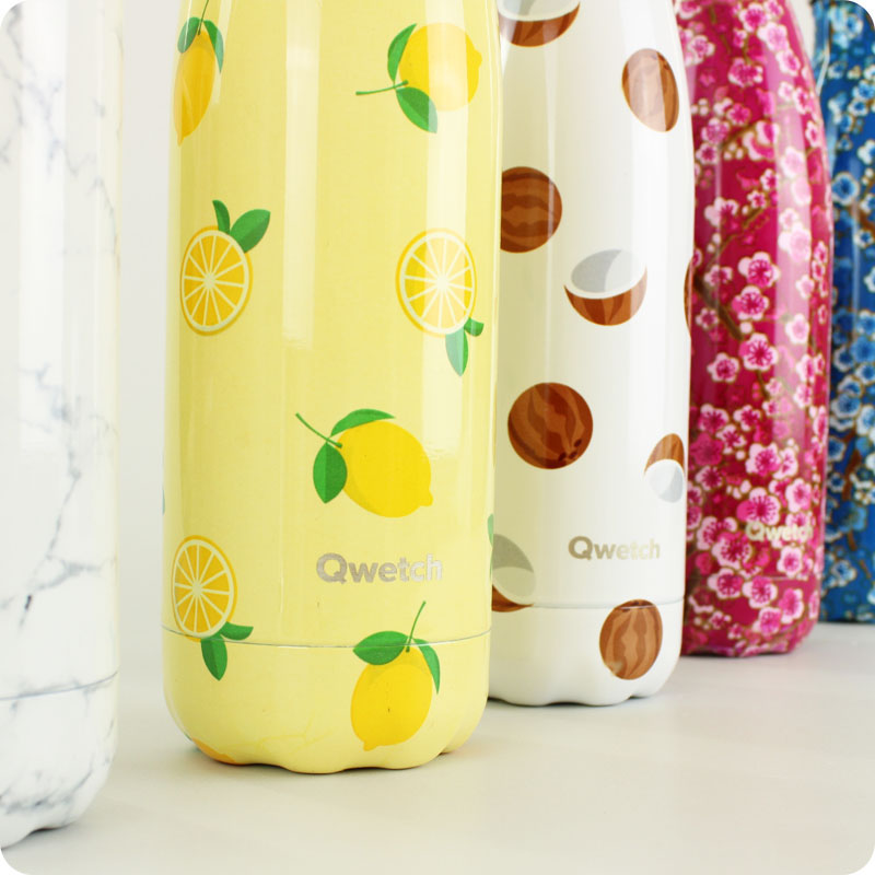 QWETCH - INSULATED STAINLESS STEEL BOTTLE 500ML