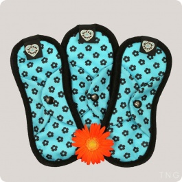BLOOM REUSABLE SANITARY PADS - 3 PACK