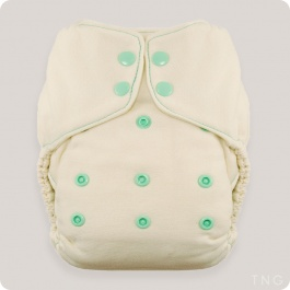 THIRSTIES NATURAL ONE-SIZE FITTED NAPPY