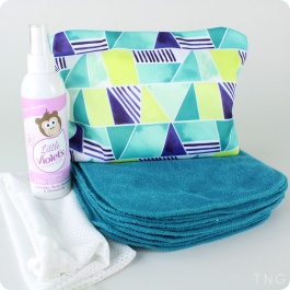 THE NAPPY GURUS HANDS & FACES WIPES KIT