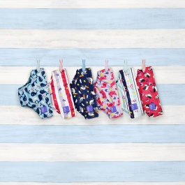 BAMBINO MIO NAUTICAL & NICE SWIM NAPPIES - 3 PACK